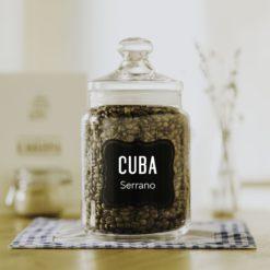 čerstvá káva Cuba Serrano