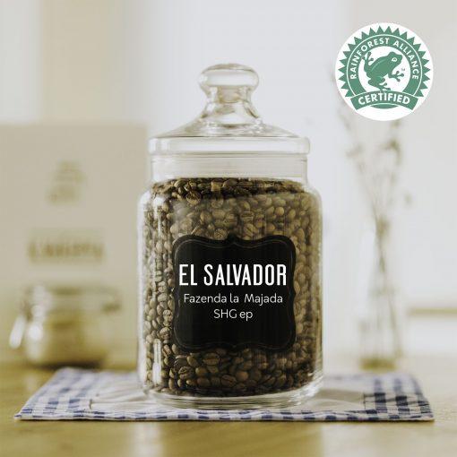 čerstvá káva El Salvador La Majada