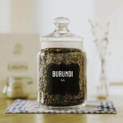 čerstvá zrnková káva Burundi