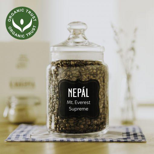 čertvá káva Nepál Mt. Everest