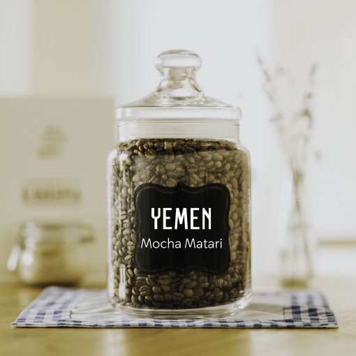 čerstvá káva Yemen Mocha Matari