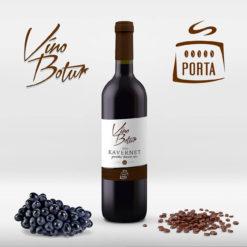 Kávové víno Kavernet, Cabernet moravia, čerstvě pražená káva z Costa Ricy