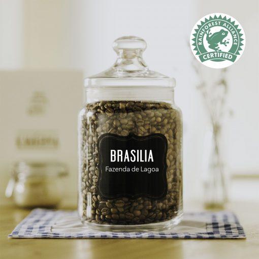 čerstvá káva Brazilia Fazenda da Lagoa