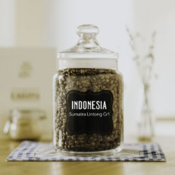 čerstvá káva Indonésia Sumatra Lintong