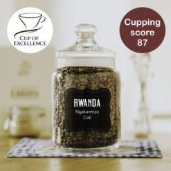 čerstvě pražená káva Rwanda CoE